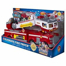 Paw Patrol Ultimate Rescue Fire Truck With Extendable 2 Ft. Tall Ladder Toy