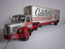 CAMION SEMI-REMORQUE 1/43  BERLIET TLR 10 M FRANCE 1959 TRUCK LKW  NEW/BOX