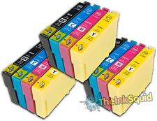 12 T1291-4/T1295 non-OEM APPLE Ink Cartridges for use in Epson Stylus WF7015