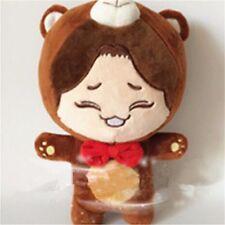 """KPOP EXO Planet#2 CHEN KimJongDae Brown Bear 9"""" Plush Toy Stuffed Doll Fan Goods"""