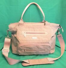 Jj Cole Caprice Diaper Bag Large Capacity Tote w/ Stroller Clips & Changing Pad