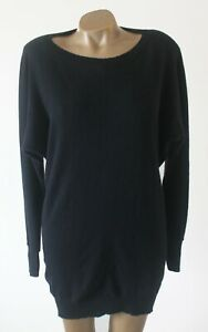 Jumper Sweater Theory Size S 100% Pure Soft Cashmere Oversized Relaxed Fit Black