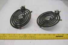 "Calrod WB30X359 6"" Coil Burner Heating Element 208/240V 1325/1000W Lot Of 2"