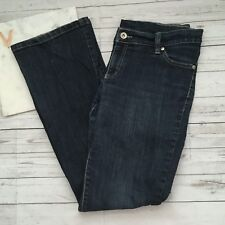 dkny womens 12 downtown brooklyn jeans stretch designer medium wash casual
