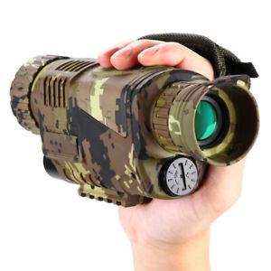 BOBLOV 5x8 Optics IR Infrared Night Vision Monocular Hunting Telescope 16GB~