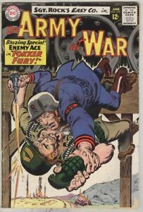 Our Army at War #155 June 1965 G/VG Third Enemy Ace