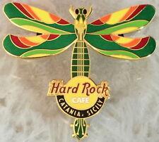 Hard Rock Café Catania 2004 Libellule Guitare Série Broche le 150 - Hrc #25850