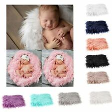 Infant Wrap Baby Photography Quilt Photographic Blanket Photo Props Fur Mat