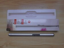 Stabfeuerzeug TCM Tchibo nachfüllbar silber extra lang neu in Originalverpackung