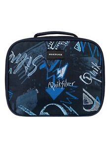 """QUIKSILVER® """"Lunch Lady Land"""" insulated nylon lunch bag/cooler NEW!"""