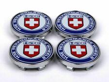 "4Pcs 60mm 2.36"" HRE Logo Sports Racing Wheel Center Caps Hub Cover Emblem Badge"