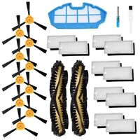 Accessories Kit For Ecovacs Deebot N79S N79 Robotic Vacuum Cleaner Filters, R4O8