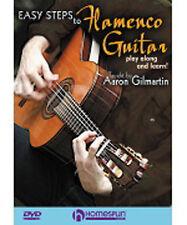 Aaron Gilmartin Easy Steps To Flamenco Guitar Learn to Play Latin Music DVD