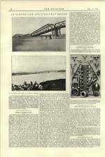1892 Japan Earthquake Nagaragawa Bridge Benardos-howard Electric Tube Welding