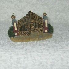 Boyd's Town Village Figurine - Trumbles' Golden Gates - Dated 2001