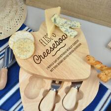 Conjunto de placa de queso de madera Personalizado Corazón Grabado Día de las madres, regalo de boda