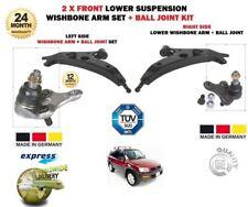 FOR TOYOTA RAV 4 1994-2000 NEW 2x FRONT LEFT + RIGHT WISHBONE SUSPENSION ARM SET