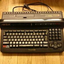 Panasonic MSX2+ FS-A1WSX Desktop Computer Console retro game used JUNK Black