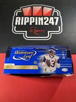 2001 Quantum Leaf Football Hobby Box- 24 Sealed Packs-Drew Brees RC?Tom Brady🔥