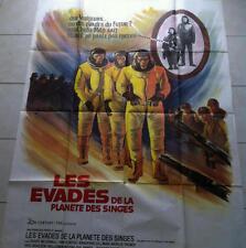AFFICHE DE CINEMA Les évadés de la planête des singes Planet of Apes 1971