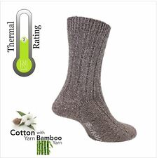 Bamboo and Cotton Blended Classic Walking Socks By Norfolk - Simon