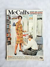 Vintage McCall's Sewing Book Instruction Style Guide Technique How-To Manual