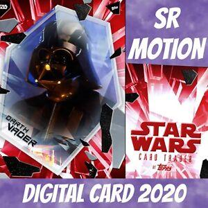 Topps Star Wars Card Trader Darth Vader Fractured Empire Red W/1 2021 Digital