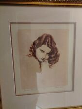 Stanwyck Print by Artist Frank Martin
