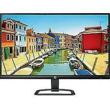 HP 27eb 27 Inch LED LCD HDMI Display Monitor - Black