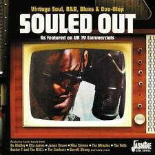 SOULED OUT Vintage Soul, R&B, Blues & Doo-wop featured in UK TV Commercials CD