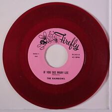 RAINBOWS / DON COVAY: If You See Mary Lee / Ooh My Soul 45 (red wax)