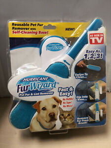 New & Sealed Hurricane Fur Wizard Pet Hair Remover & Lint Remover C25