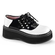 Damen-Schnürschuhe aus Kunstleder normale Weite (E)