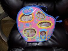 Littlest Pet Shop Vinyl Zip Around Carrier EUC HTF