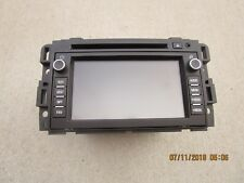 07-09 SUZUKI GRAND VITARA CD PLAYER GPS NAVIGATION UNIT RADIO AM FM P/N 15933133