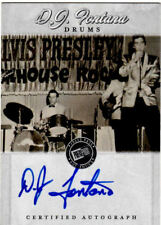 ELVIS PRESLEY,S DRUMMER DJ.FONTANA.AUTOGRAPHED CARD. FREE SHIPPING