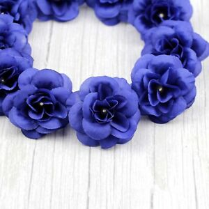 Lot Artificial Fake Small Rose Silk Flower Head for DIY Wedding Party Home Decor