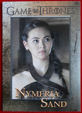 GAME OF THRONES - Season 6 - Card #80 - NYMERIA SAND - Rittenhouse 2017