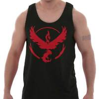 Team Valor Go Red Master Trainer Gamer Gift Adult Tank Top T-Shirt Tees Tshirt