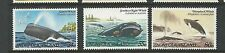1982 Whales set of 3 MUH/MNH  Set as Issued