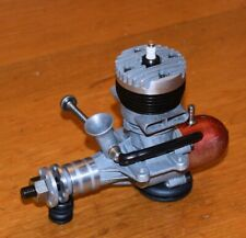 1950 OS 29 Twin Stack model airplane engine vintage red fuel tank .29 glow Japan