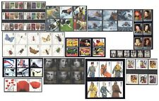 2008 Royal Mail Commemorative Sets MNH. Sold separately & as full year set.