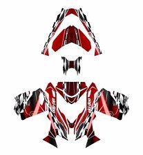 Ski Doo REV XS 2013 2014 2015 graphics sled custom wrap deco kit #2300 red