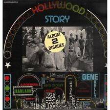 AA.VV. 2 Lp Vinile Hollywood Story / Disques Festival ‎ALB 214 Francia Nuovo