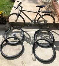 Gary Fisher Prometheus Vintage Titanium Mountain Bike With Extra Rims & Tires