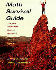 Math Survival Guide: Tips and Tricks for Science Students by Jeffrey R. Appling
