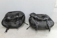 2011 HARLEY-DAVIDSON HERITAGE SOFTAIL SIDE CARGO LUGGAGE SADDLEBAG BAG PAIR
