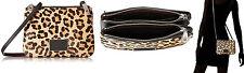 Marc Jacobs Crossbody Bag Ligero Leather Leopard Calf Hair Shoulder Bag