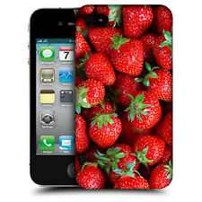 CUSTODIA COVER per APPLE IPHONE 4 4G 4S TPU BACK CASE FRAGOLINE