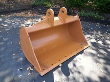 "New 48"" Ditch Cleaning Bucket for a Case 580N with Coupler Pins"